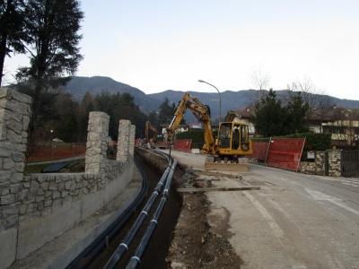 Levico - Acquedotto via Lungo Parco
